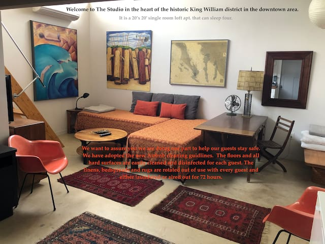 The Studio - King William/Southtown     4