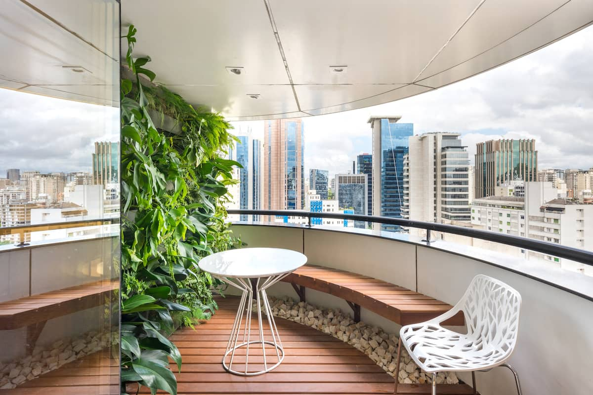 Garden loft design