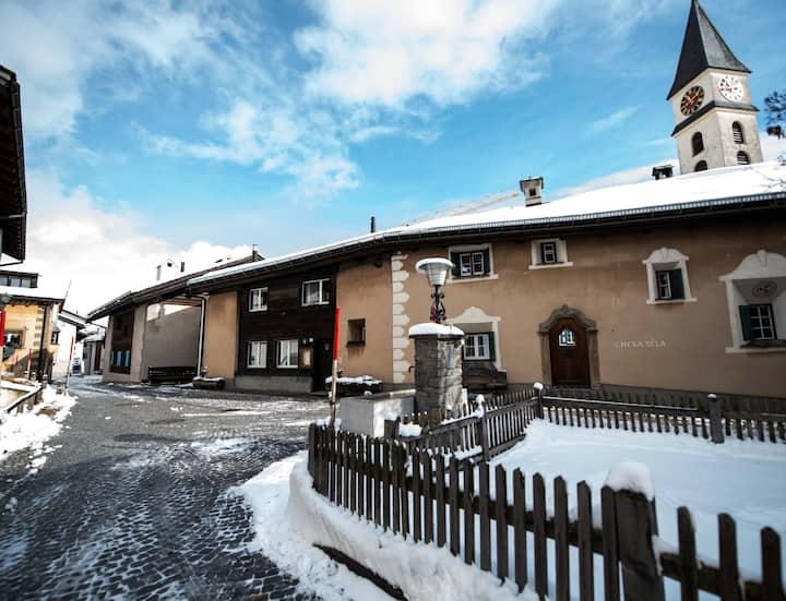 3.5 Zimmerwohnung im alten Dorfteil von Silvaplana