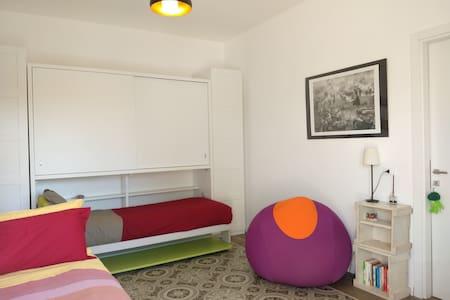 The Zen Room at RIPE's bnb in Rome