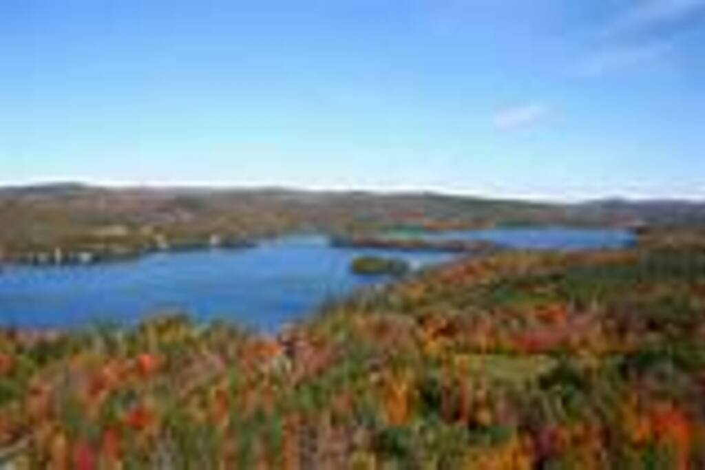 Climb Mount Sunapee in the fall.