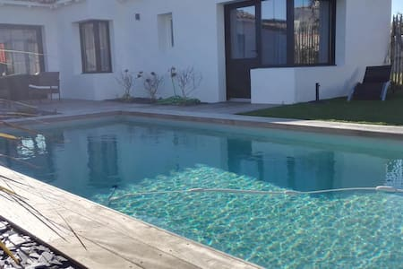 heaven on earth with pool,from 2 to 6 people - Rivedoux-Plage