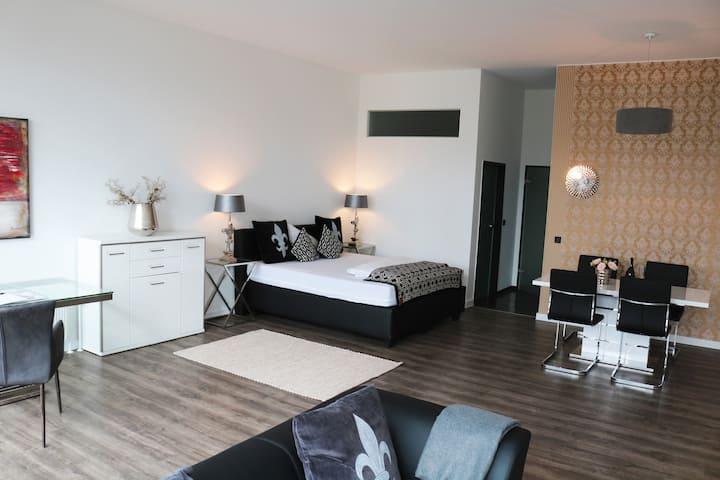 Stilvolles 80m² Apartment - mit exkl. Hotelservice