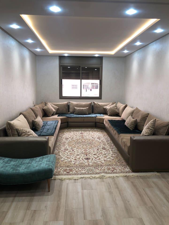 Une très belle appartement meublé
