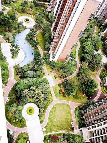 空间合理安排,干净整洁,舒适,有家的感觉! - Dongguan - Haus