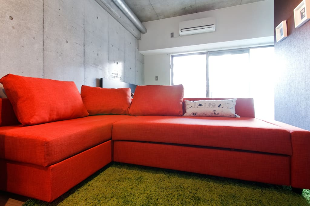 Couch & Bed