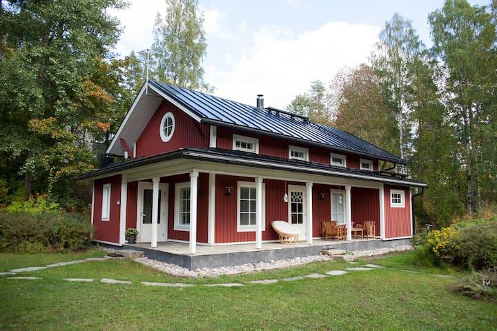 Lillin Villa, a cottage close to city and nature
