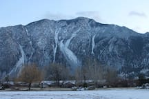 "The ""K"" Mountain in Keremeos"