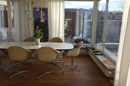Roof Top Flat/Large Terrace/Bern Ostermundigen - Ostermundigen - Apartment