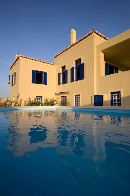 Villa Strophyli - pool