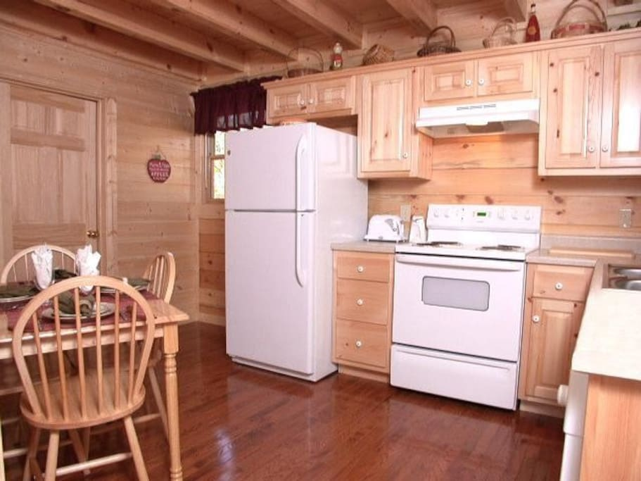 Fully-equipped kitchen for convenience when you don't feel like going out