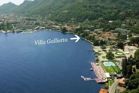 Lakefront Attic Apt in Luxury Villa - Como - Villa