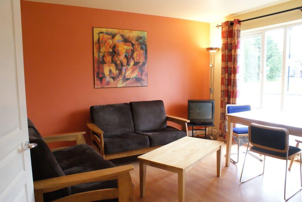 Glasan Holiday Village Apartment Lounge Area