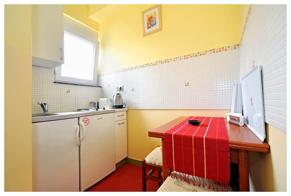 For use with room has a kitchen