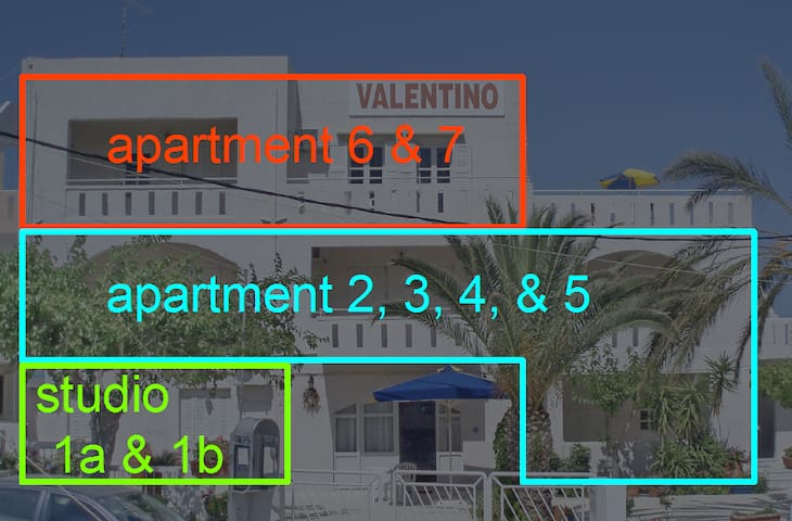 Valentino Apartments (studio 1a)