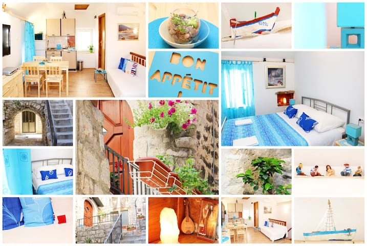 Apartment in the old town of Trogir