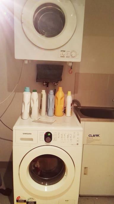 washing machine 洗衣机 烘干机