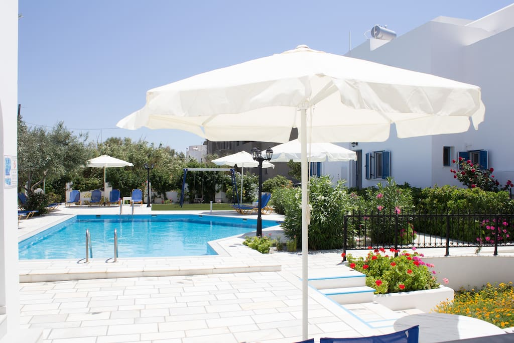 Ikaros Apartments on Naxos island