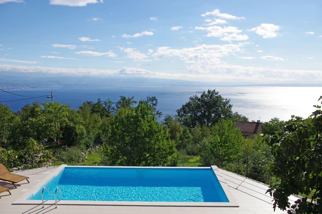 Stunning panoramic seaview