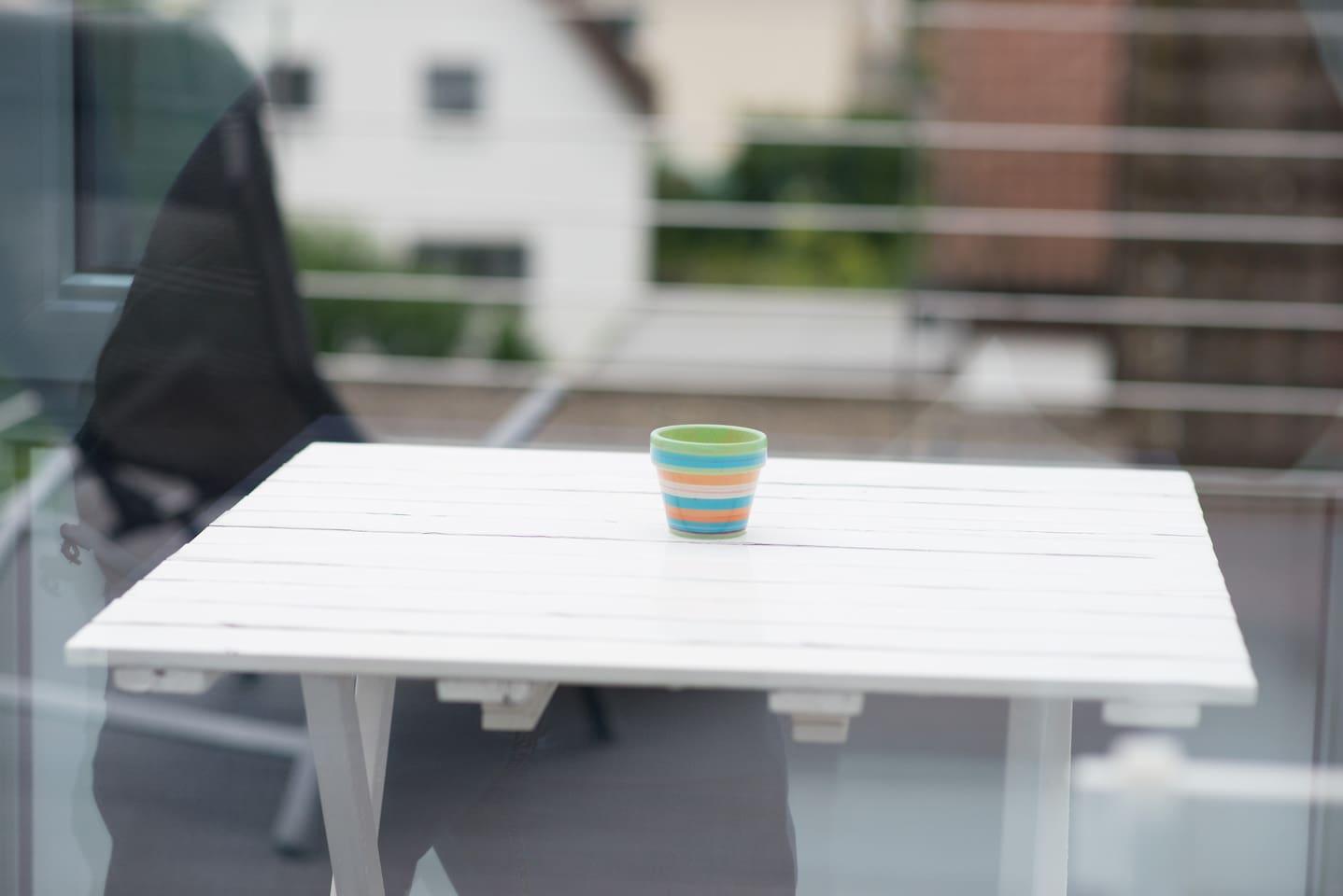 Zu Gast bei Freunden - Dachterrasse