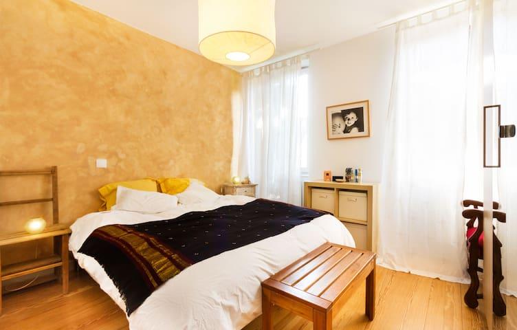 Appartement 100 m² + jardin