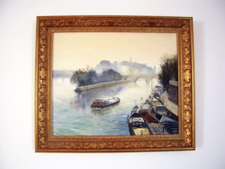 La Seine et l'Ile de la Cité.