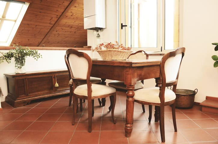Antique town-new high end attic! - Mantova - Apartment