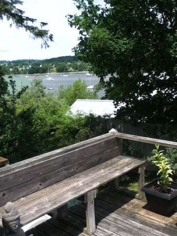 Harbor view home, Belfast Maine - Belfast - House