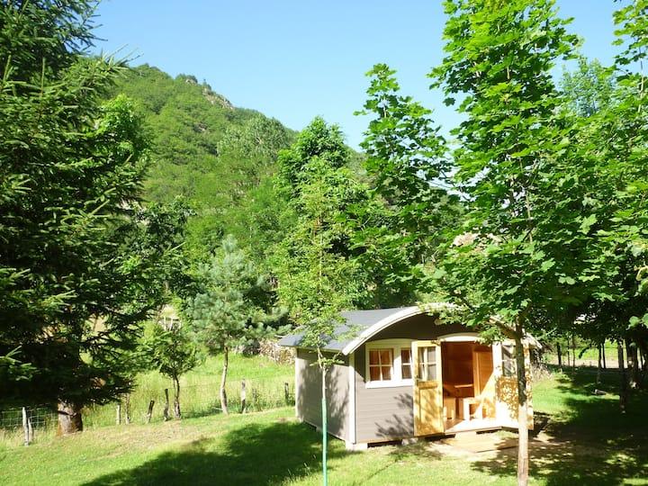 Chalet sur camping familial pour 2 personnes