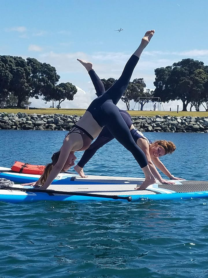 Paddle Fitness with Friends