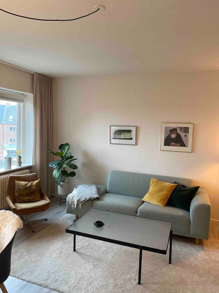 Comfy room in renovated apartment near Aarhus city