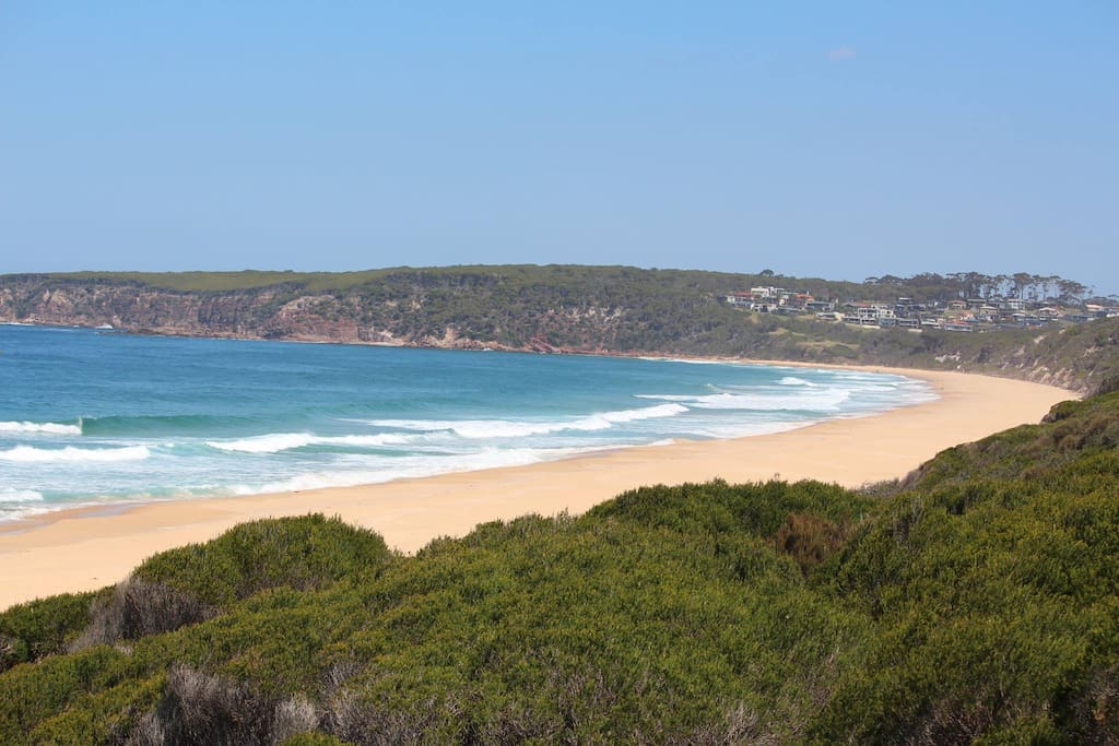 Beautiful beach - 5 minute walk