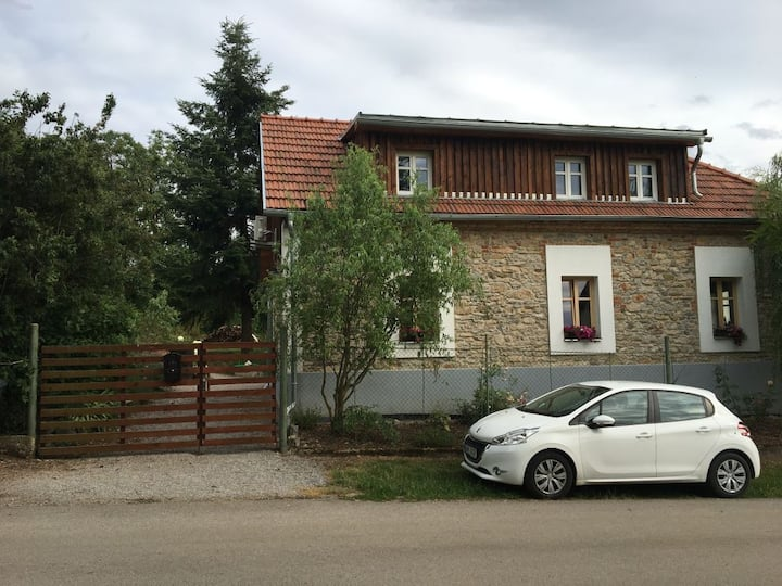 Holiday house Morinka near Karlstejn and Prague