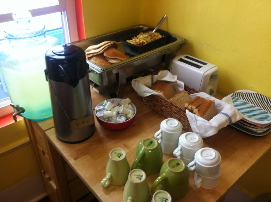 FREE Meals Cooked For Our Guests Each Day!