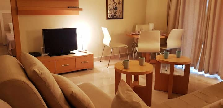 2+1 Apartment at the Gold City Luxury Hotel