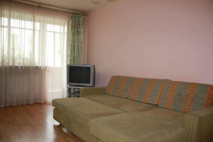 однокомнатная квартира на мира 111 - Krasnoyarsk - Apartemen