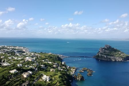 Little Space with view on Castello - Ischia
