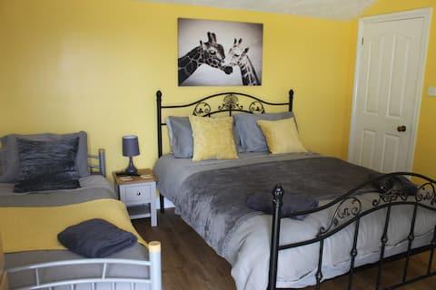 Stoneycroft, alojamento leve, arejado e amigável