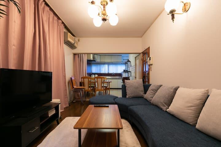 Shinjuku Japanese-style Villa/98㎡/Max 13p/FreeWIFI