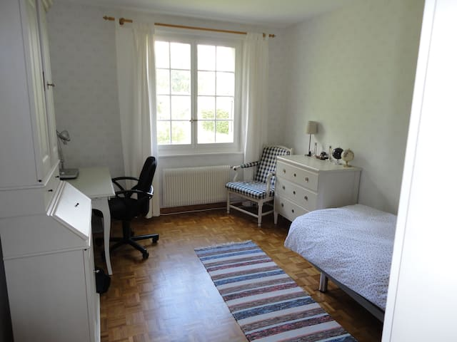 single / double bedroom in Morges - Morges - Szoba reggelivel