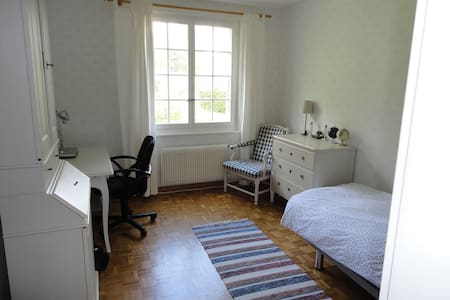 single / double bedroom in Morges - Morges - Bed & Breakfast