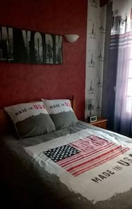Charmante chambre double New York - Imphy - Hus