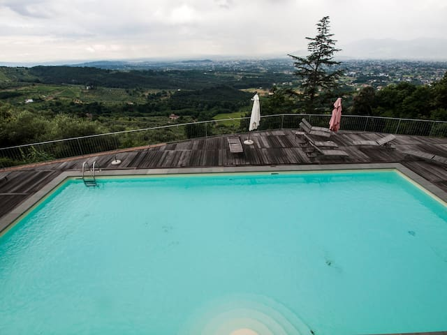 A Matraja, flat with panoramic pool - Matraia - Apartamento