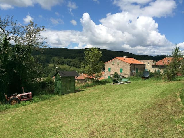 Village farmhouse in Montagne Noir near Mazamet