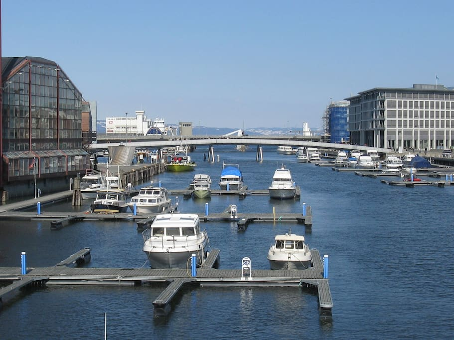 Solsiden area - a nice area in the city of Trondheim with bar, restaurants and close to my house