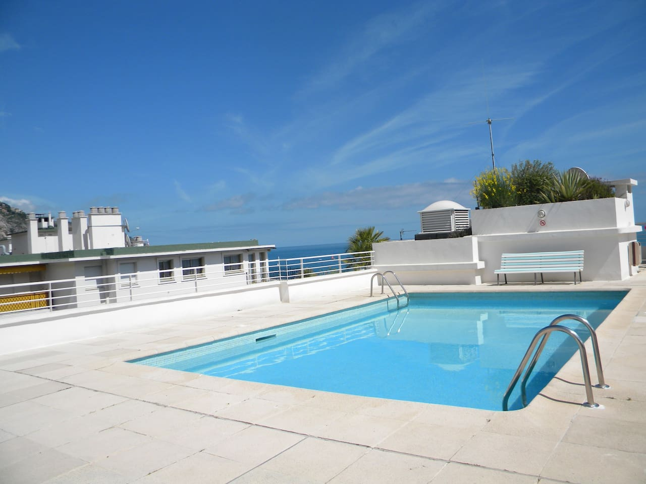 pool on the roof terrace with an outstanding vieuw!