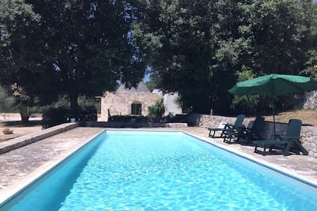Villa Alena con trullo e piscina in Valle d'Itria - เซกลิ เมซาปิกา