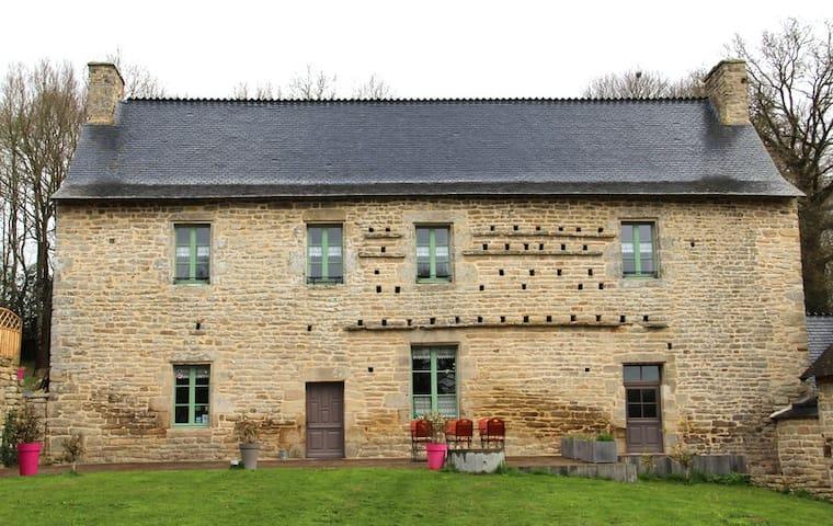 Gîte Coëtlagat - Guéhenno - Rumah