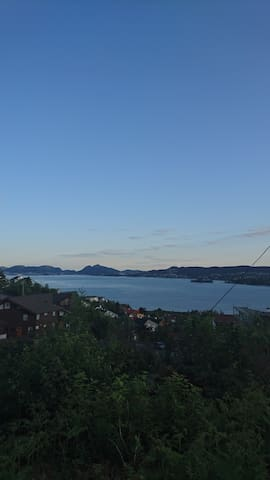 Sea view apartment i Bergen, Norway