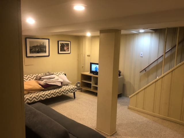 Private Basement in 16th St. Heights. Charming